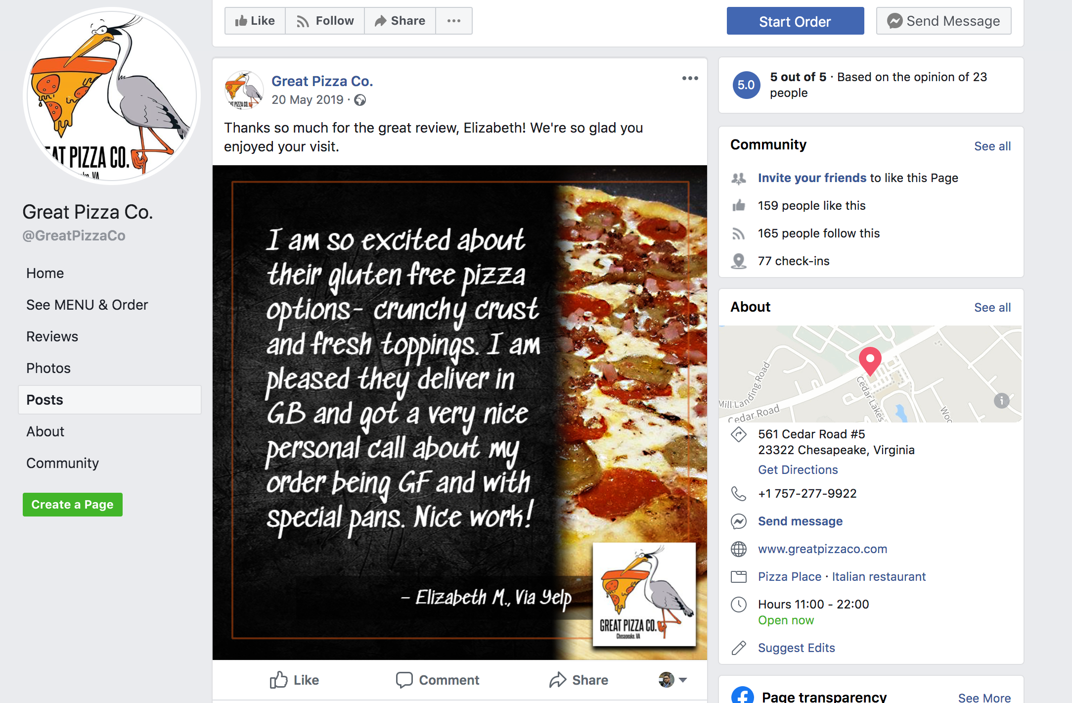 Establish if the review should be shared on social media