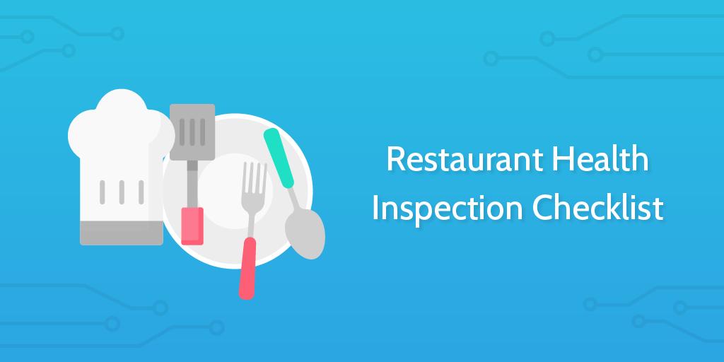 Restaurant Health Inspection Checklist