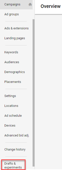 Check the number of ad variations per ad group