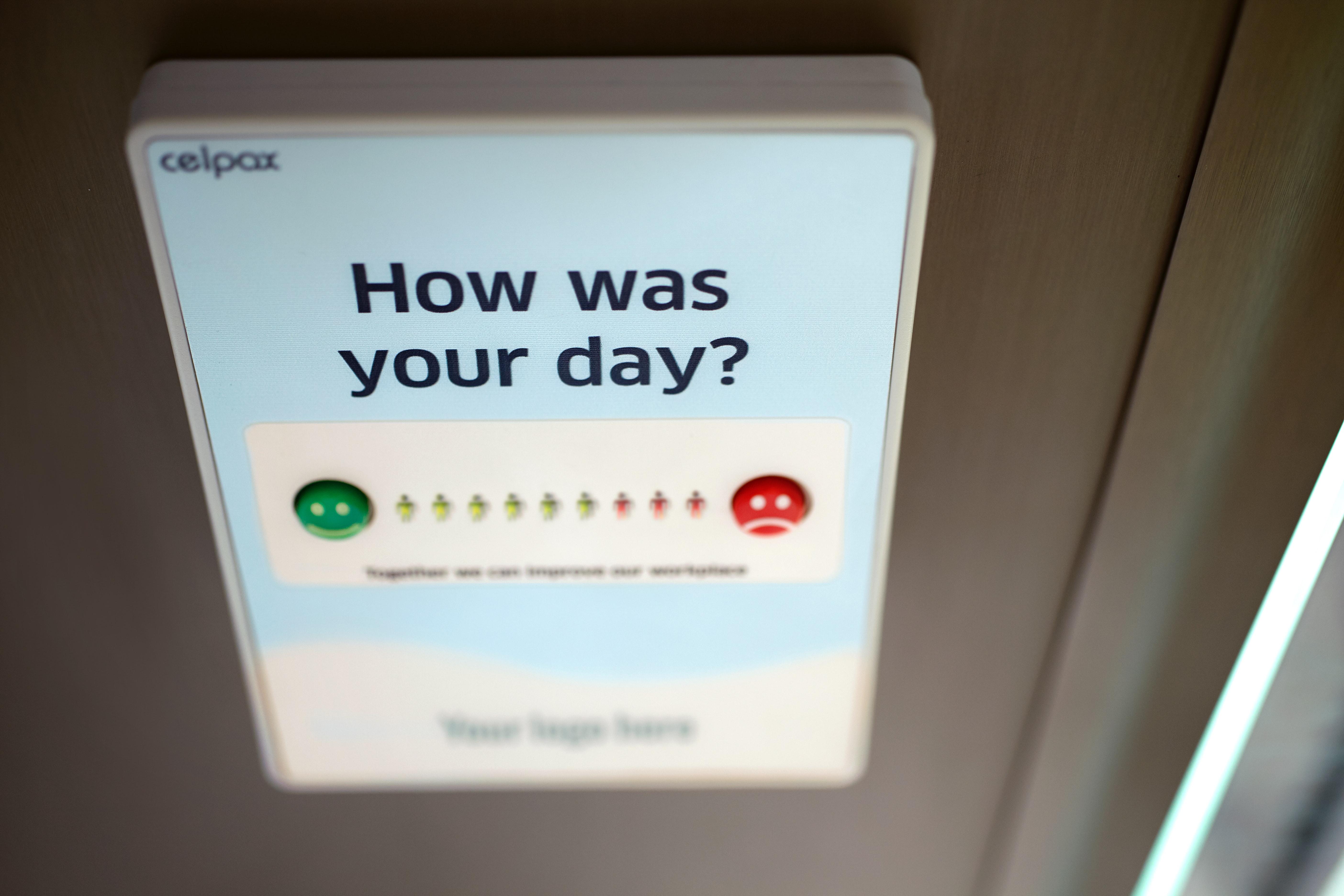 Determine customer satisfaction score
