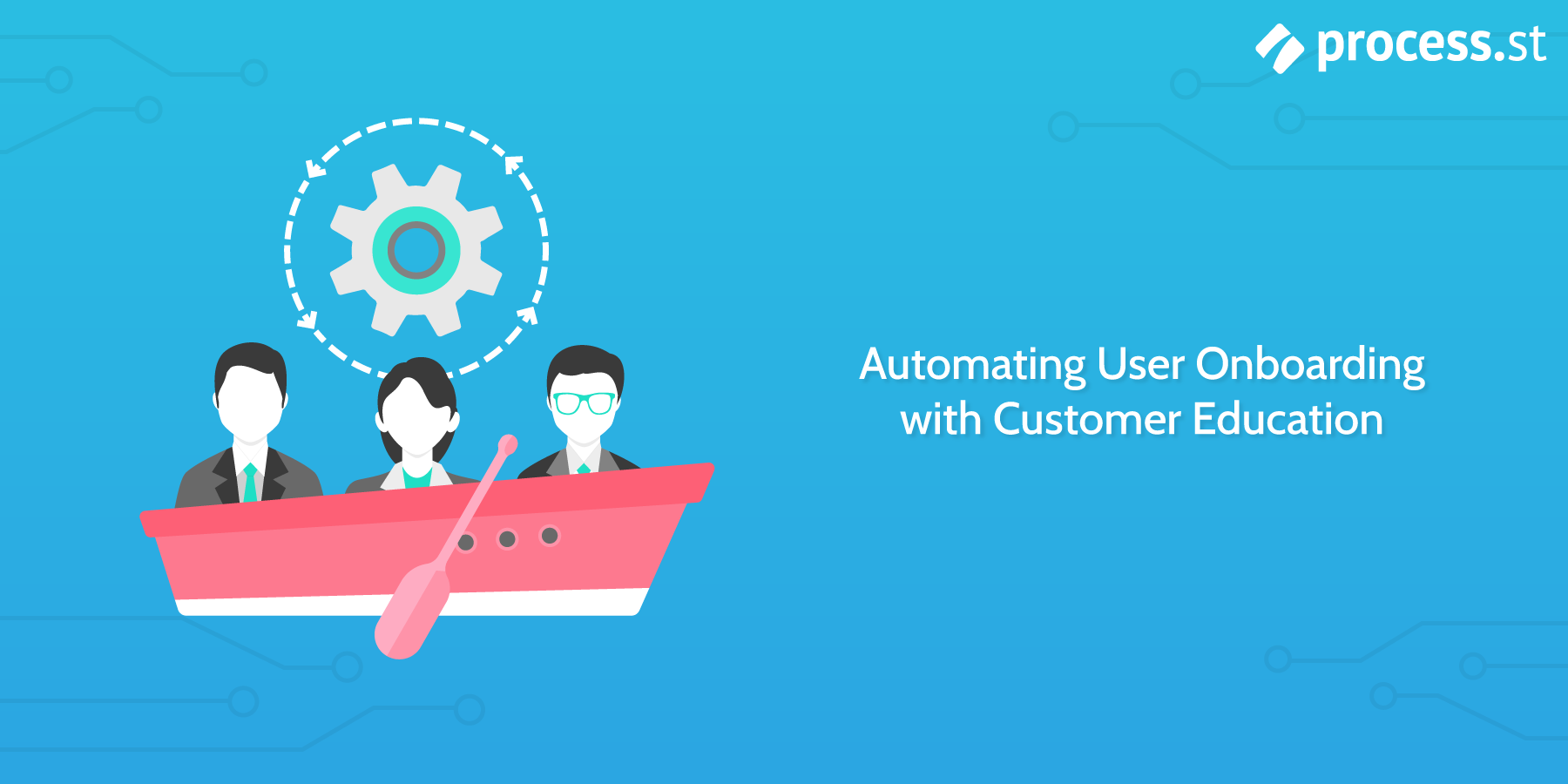 How to automate user onboarding with customer education