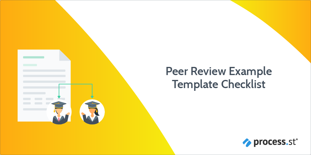 Peer Review Example Template Checklist