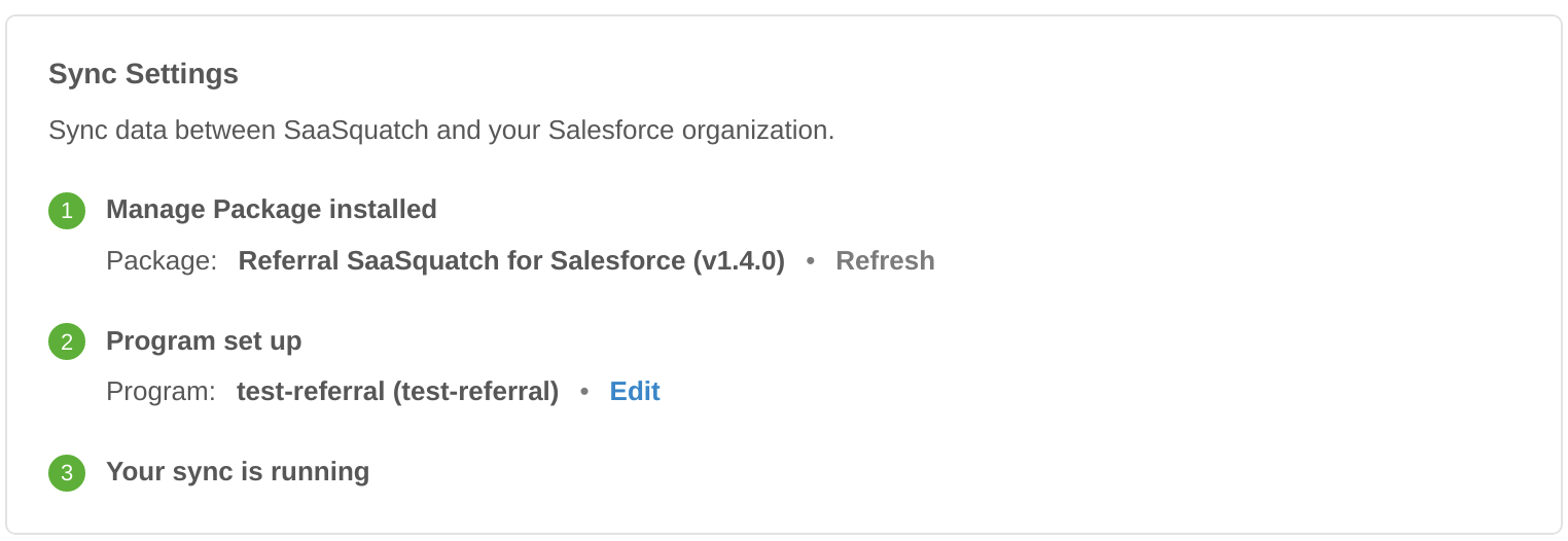 Configure the Integration in the SaaSquatch Portal