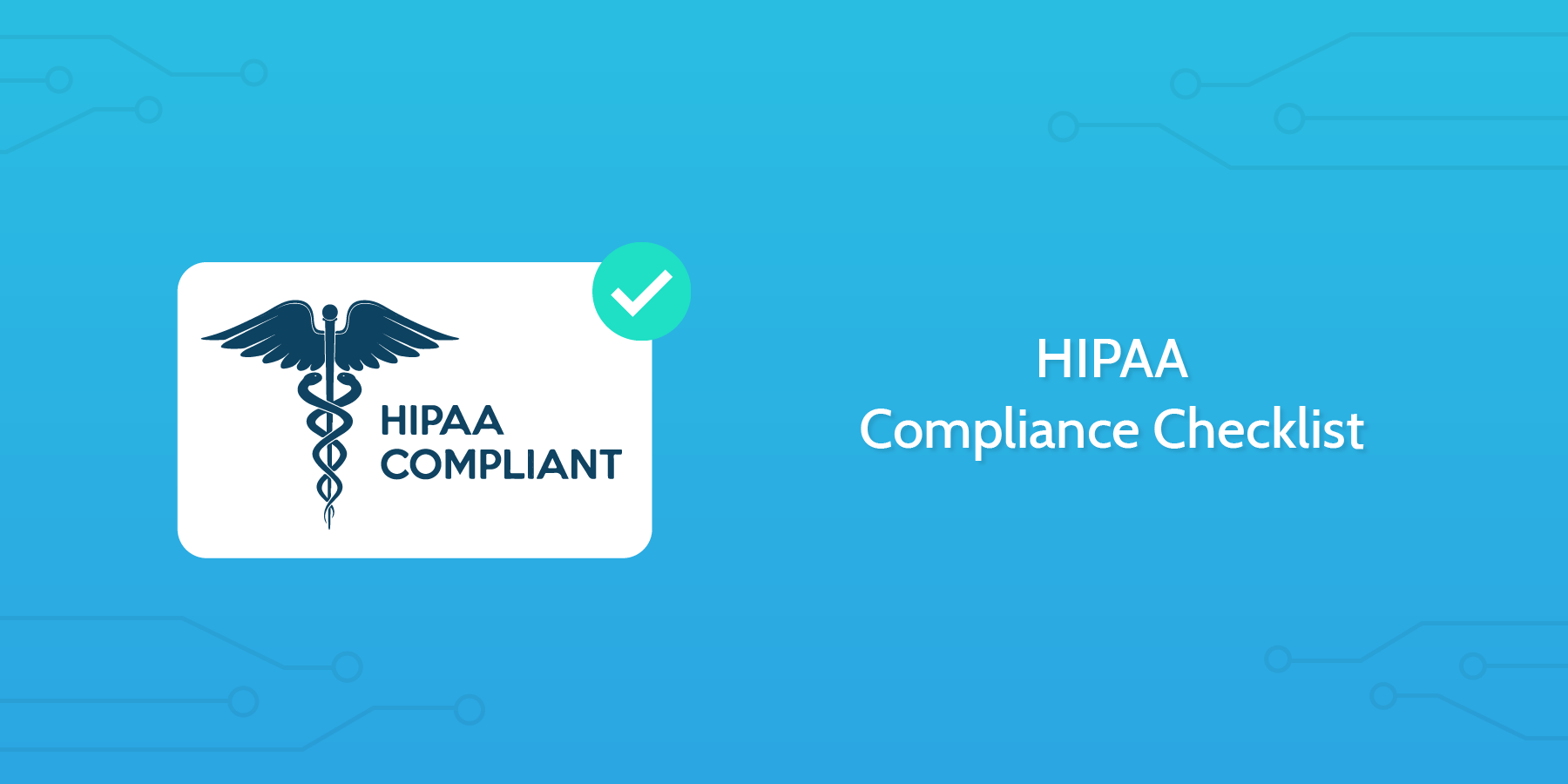 Introduction to the HIPAA Checklist for HR: