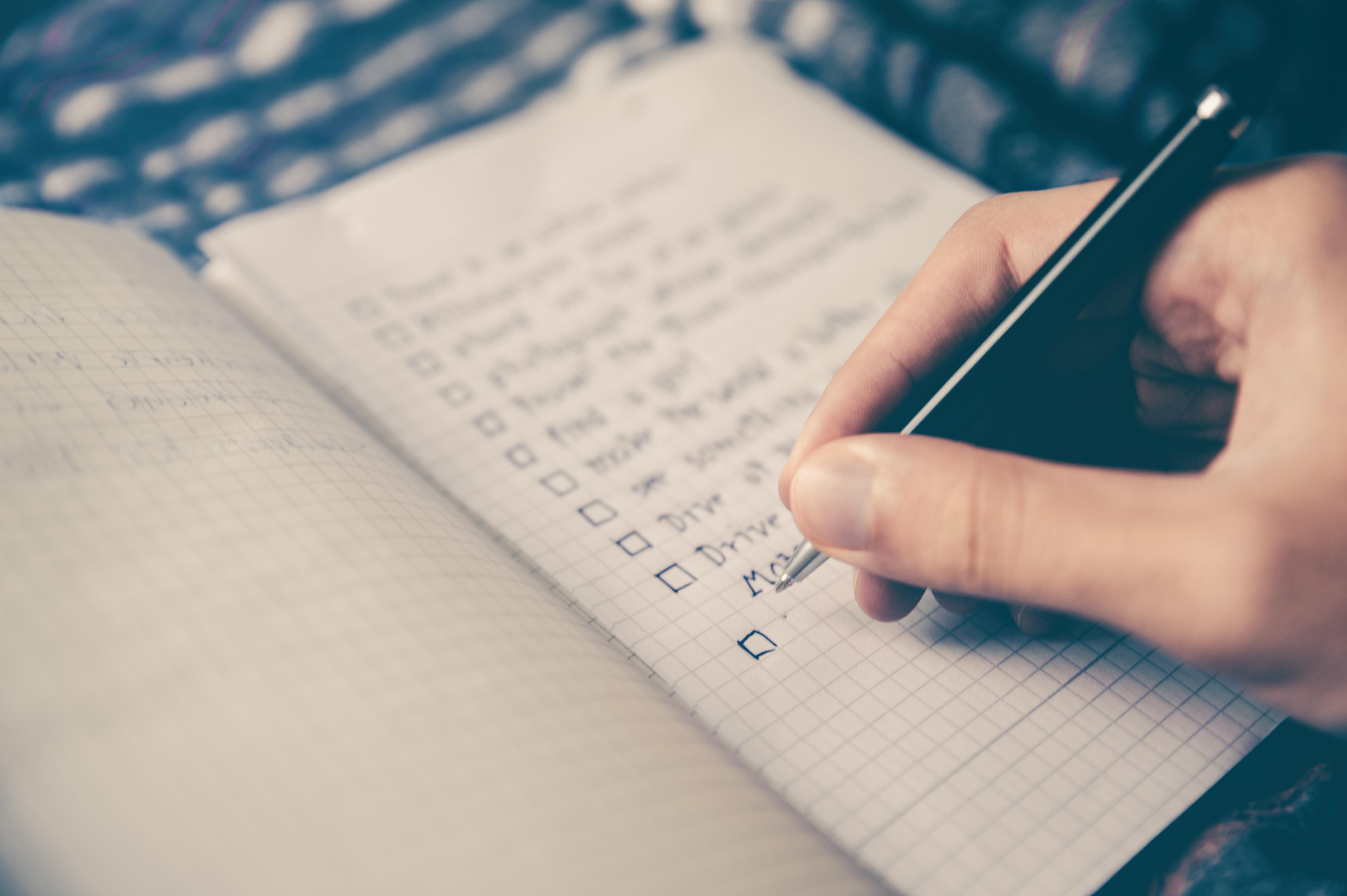 Assess daily goals