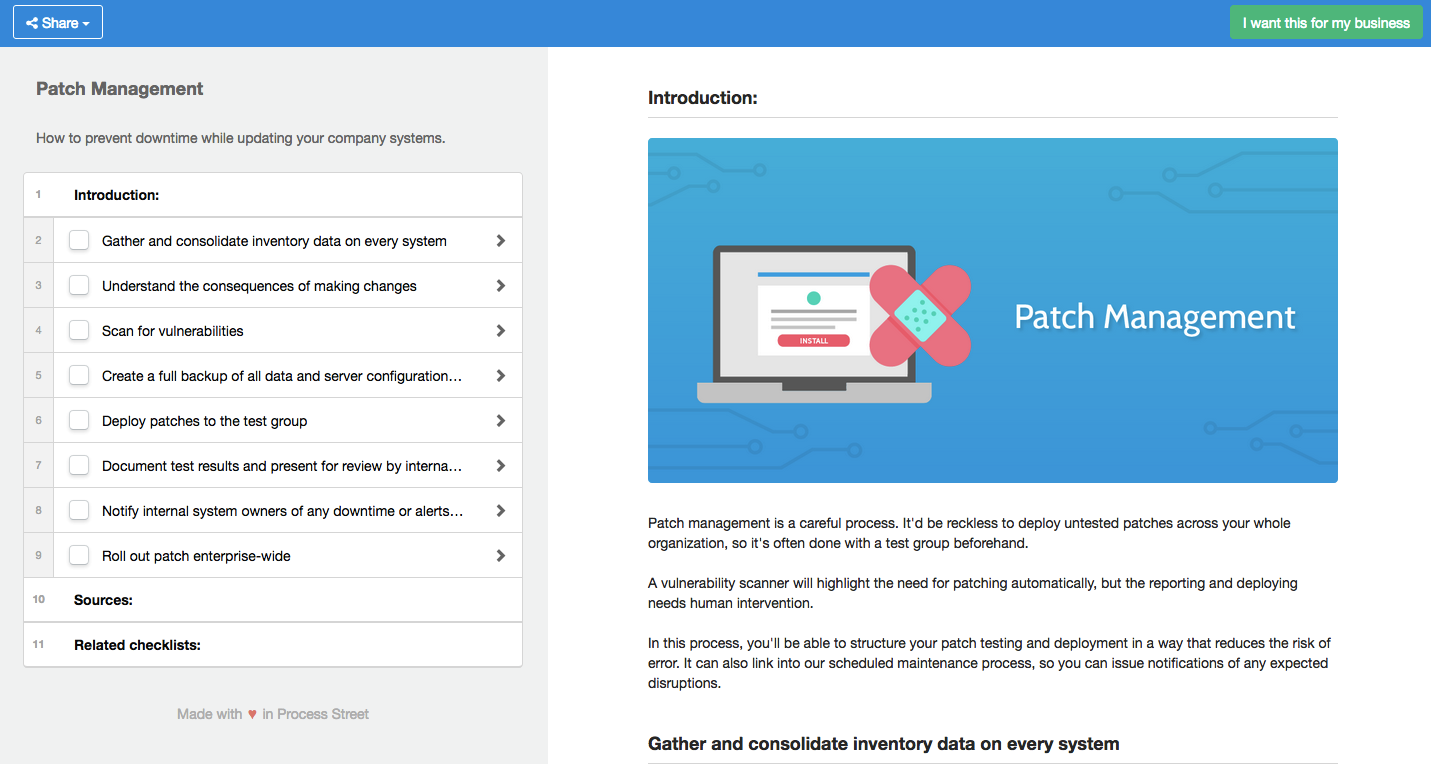 Patch targeted vulnerabilities