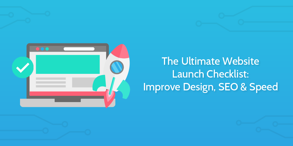 website launch checklist template