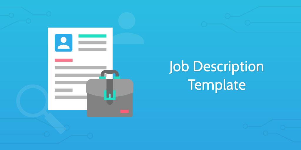 template for job descriptions