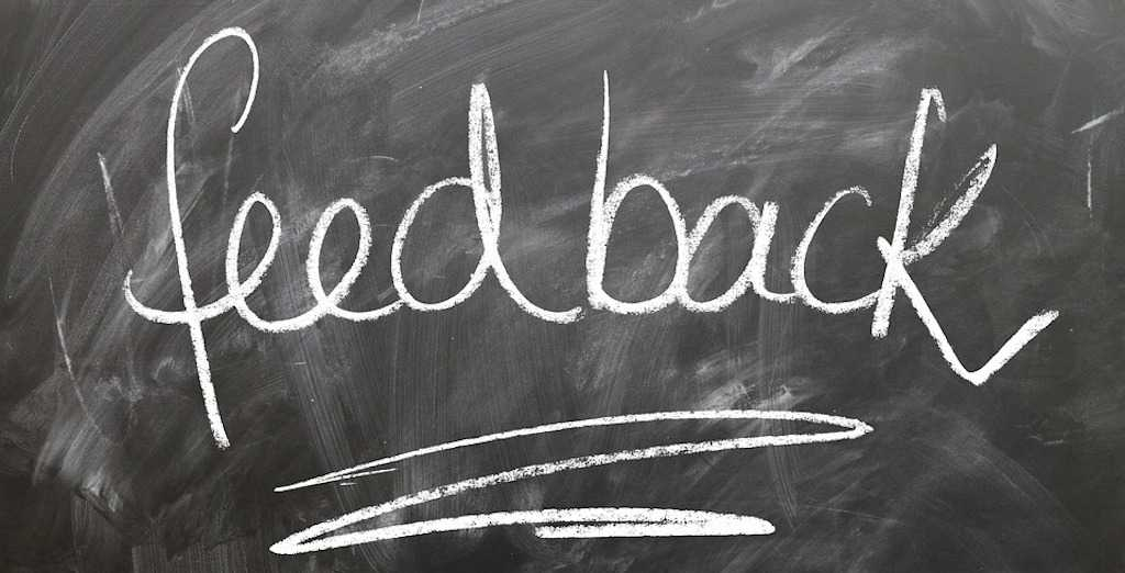 Obtain feedback: