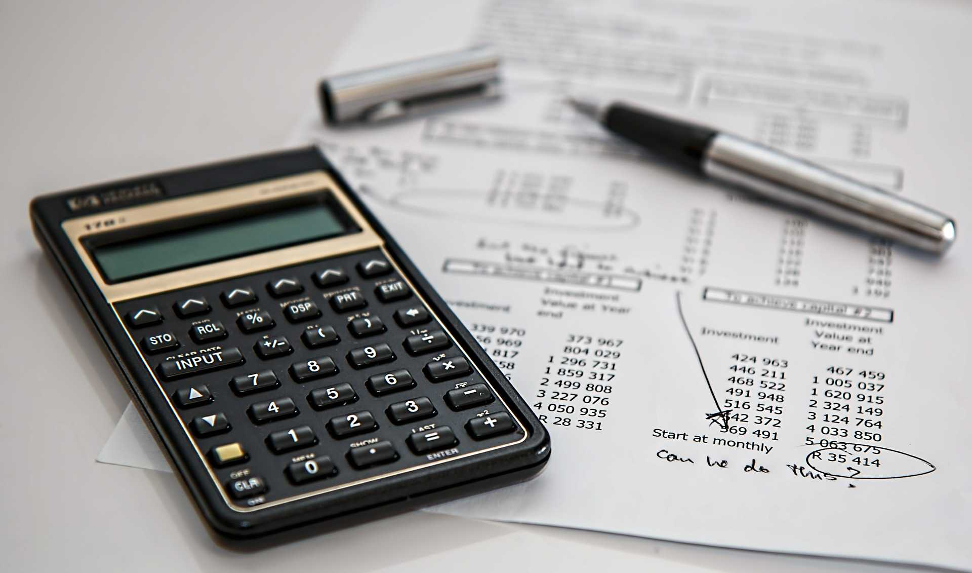 Calculate the total annual budget