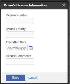 Check, update and complete your personal information