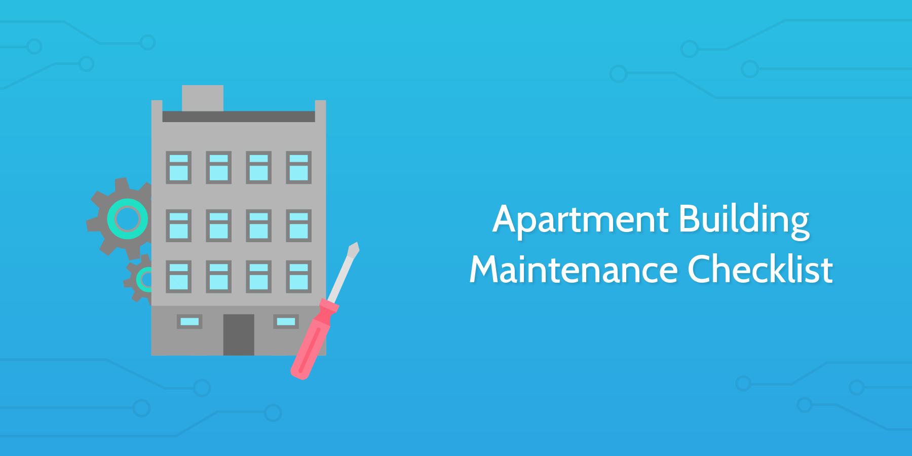 Apartment Building Maintenance Checklist Process Street