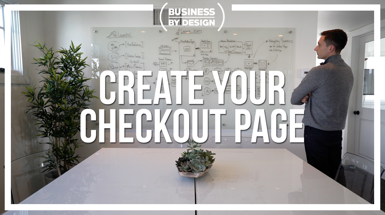 3. Create Your Checkout Page: