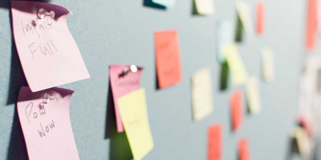 Write post-virtual meeting notes