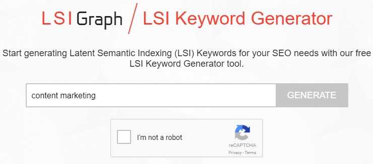 Step 1: Use LSI Graph