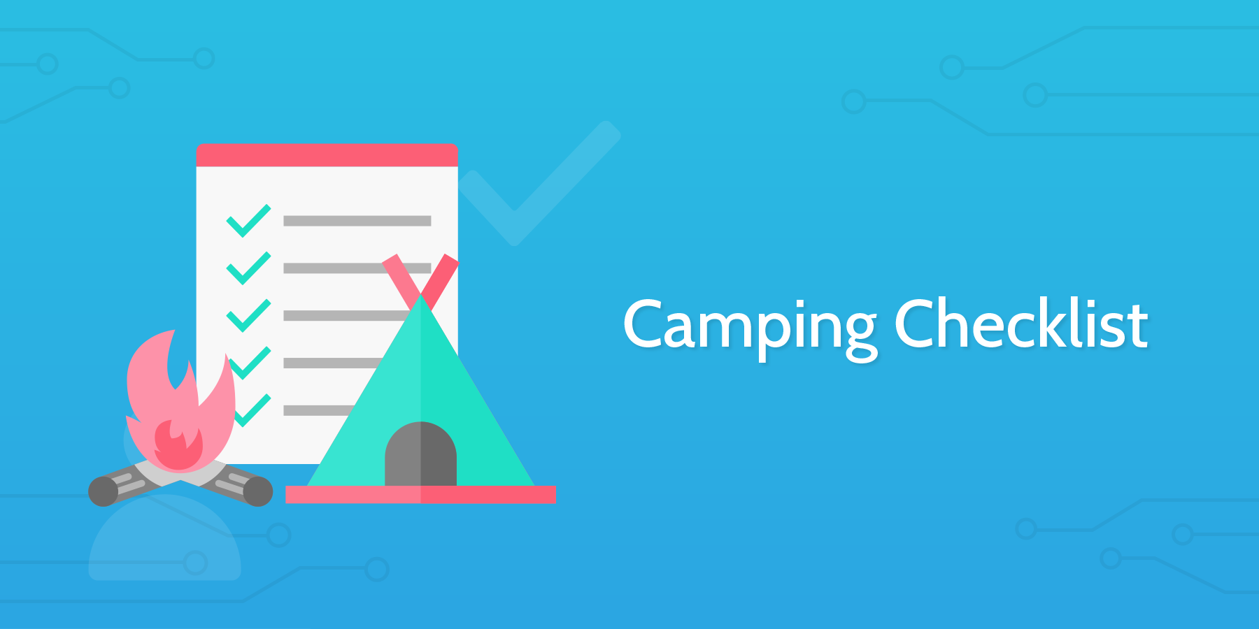 Process Street - Camping Checklist