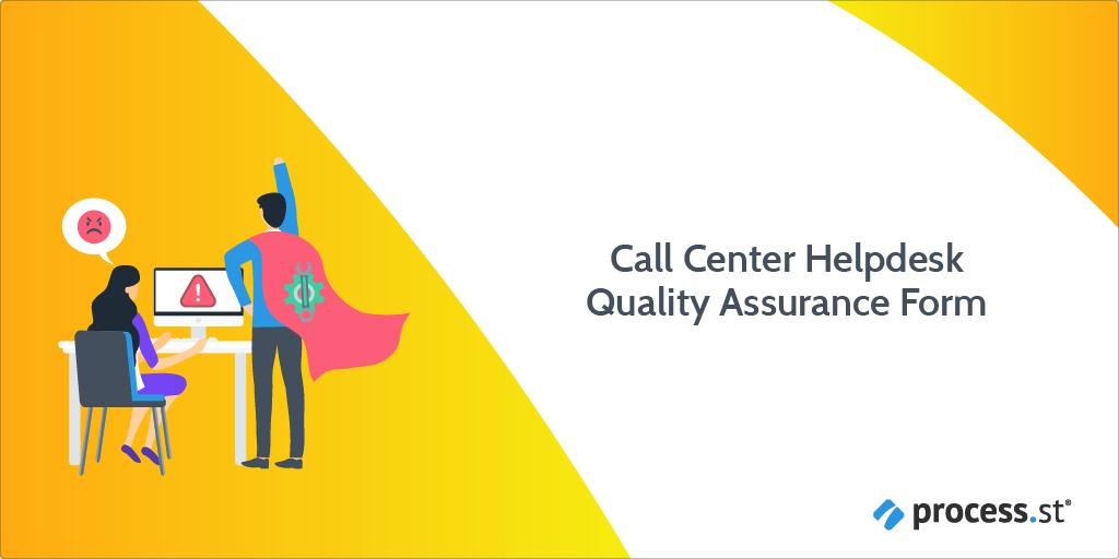 Call Center Helpdesk Quality Assurance Form