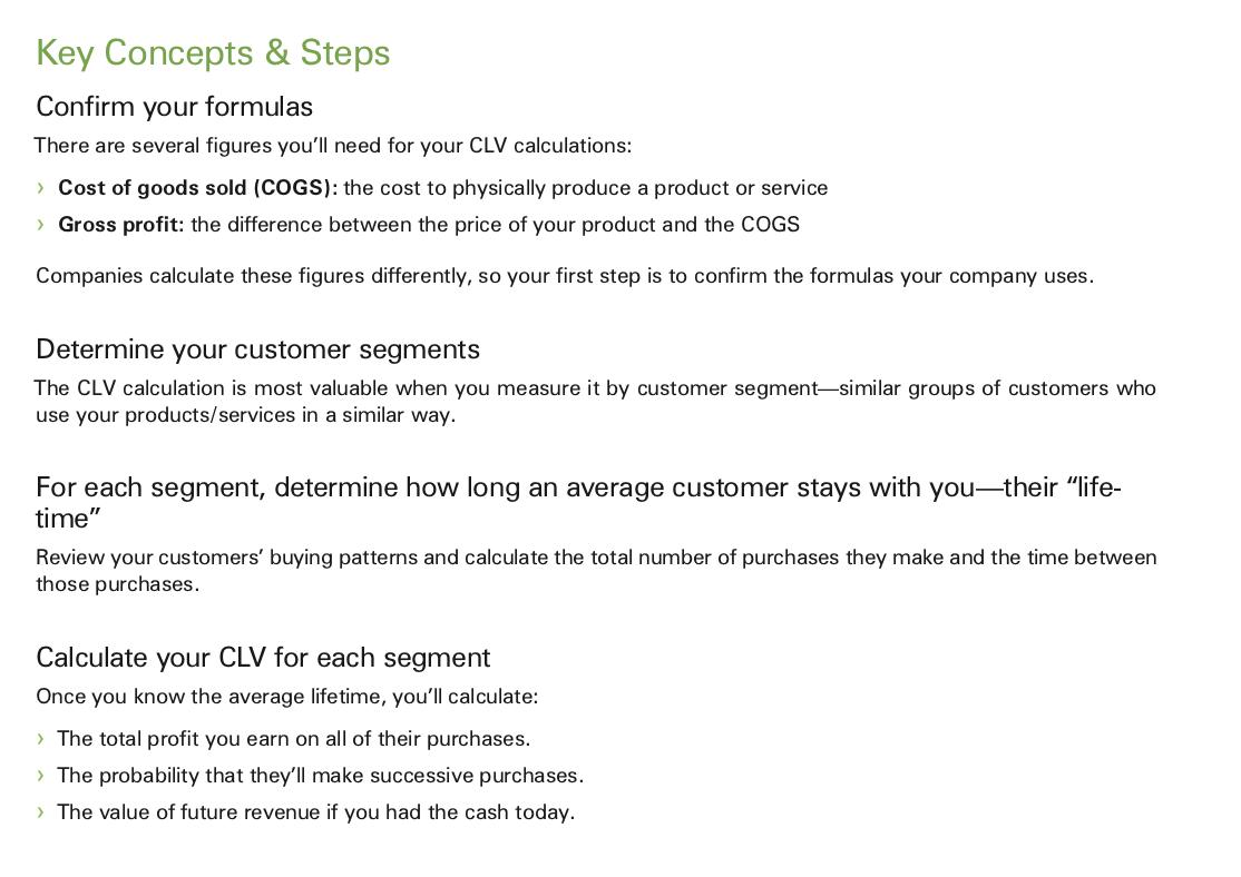 Strategic Marketing Process: CLV Source: http://www.marketingmo.com/