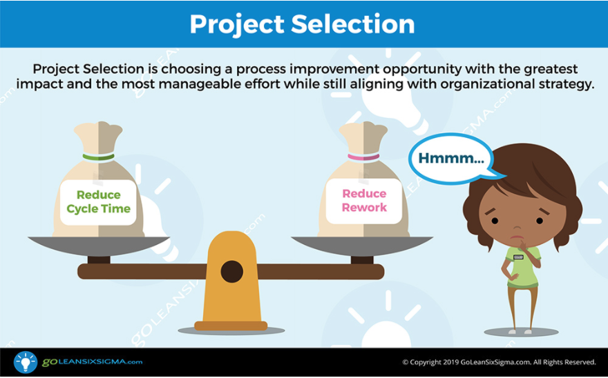 Find at least one process improvement opportunity