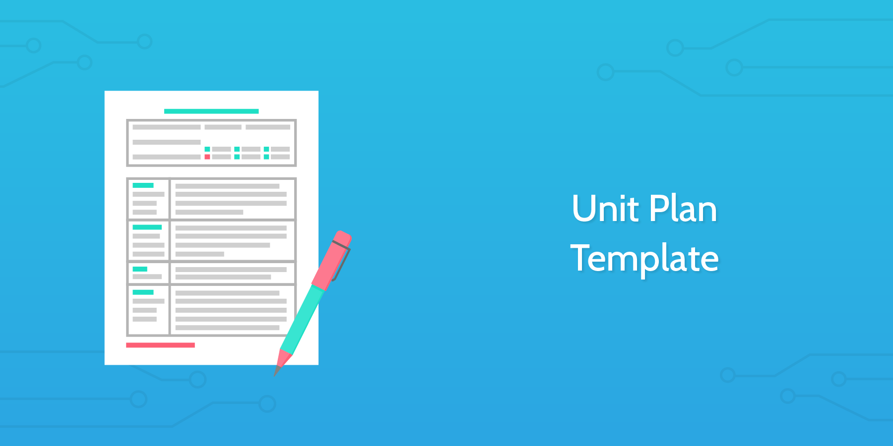 Unit Plan Template - Process Street