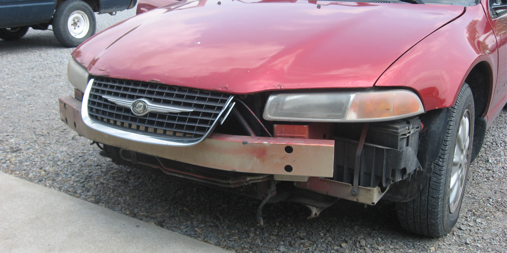 Check front bumper
