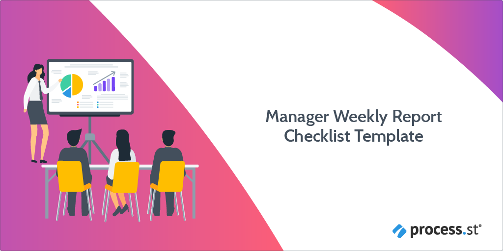 Introduction to Manager Weekly Report Checklist Template:
