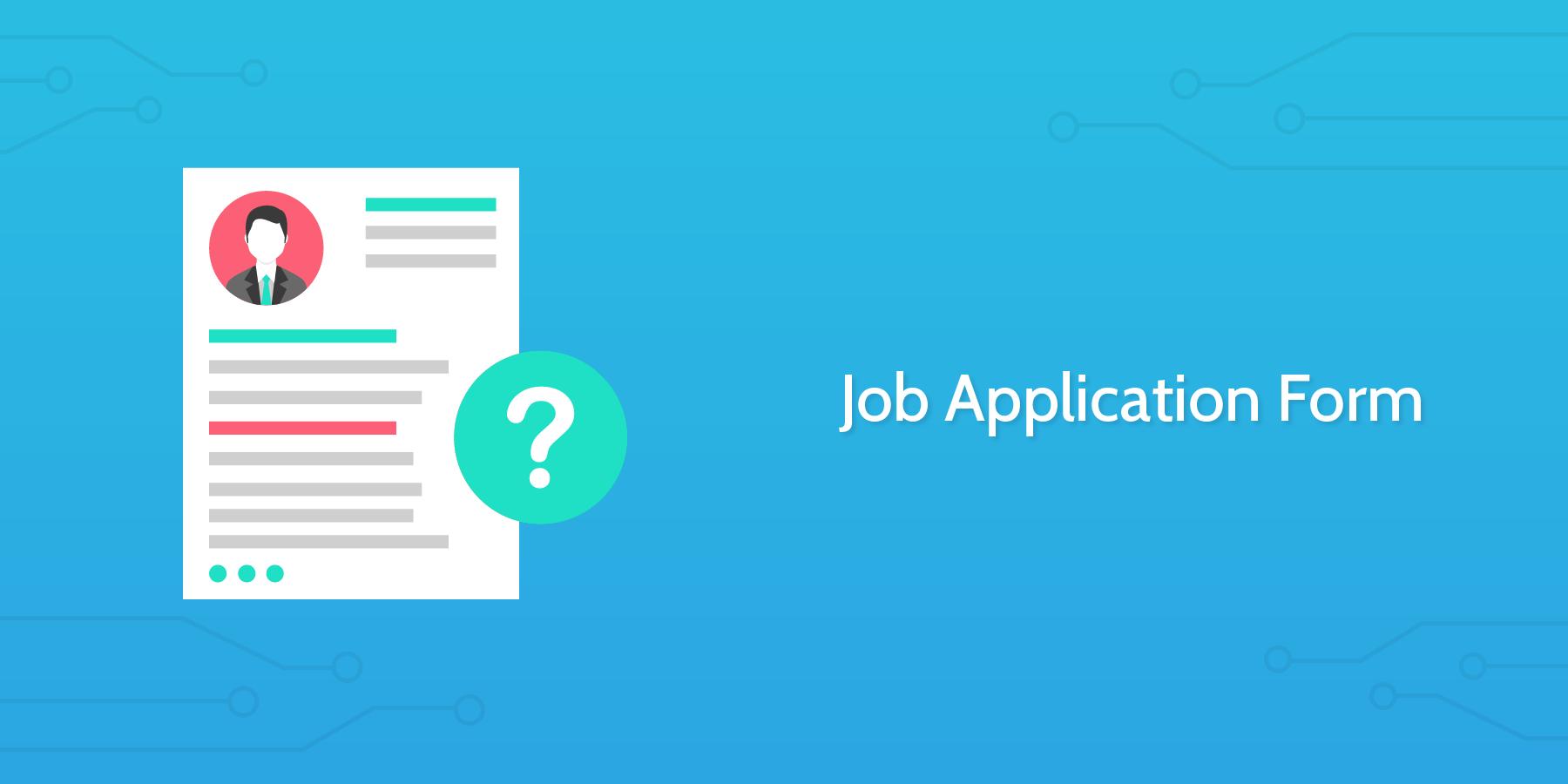 Process Street - Job Application Form