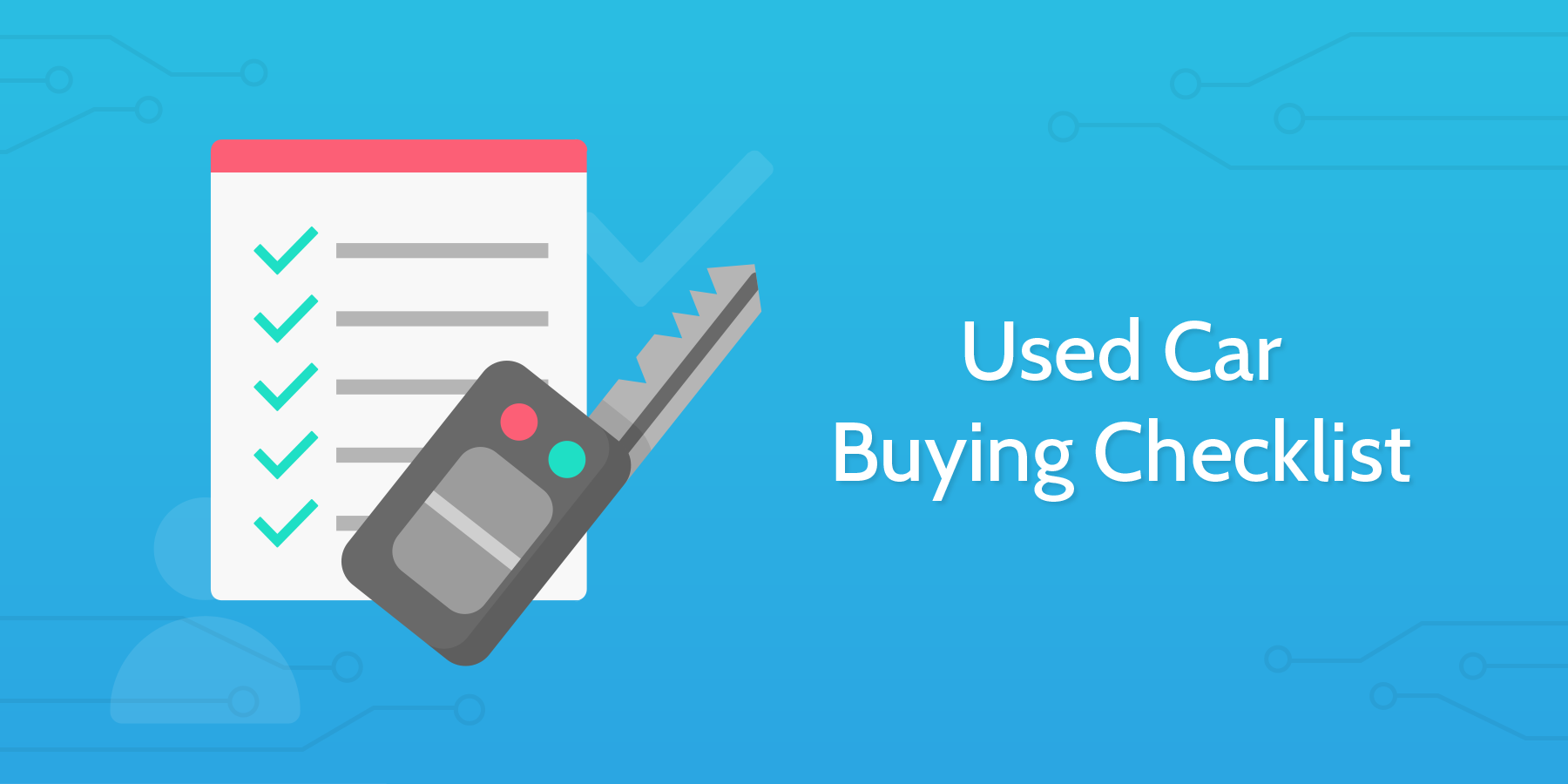 Process Street - Used Car Buying Checklist