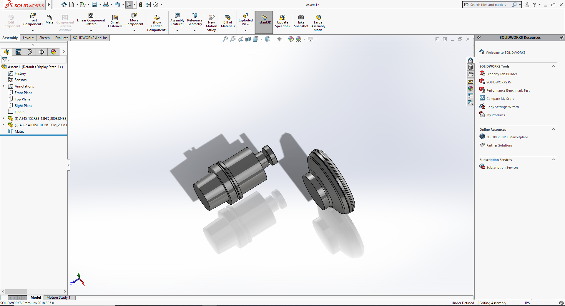Build Tool Assembly - SolidWorks
