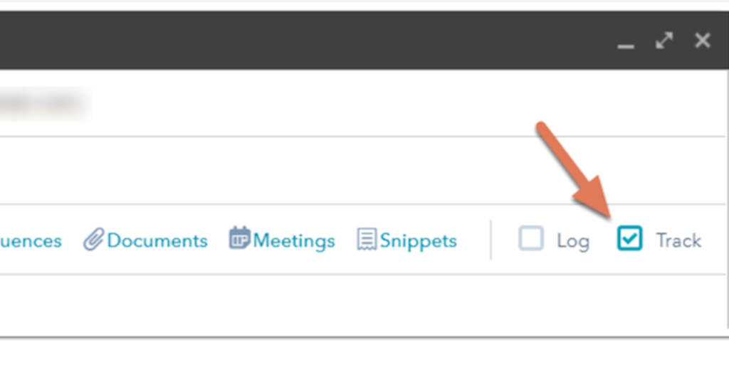 Select the track checkbox to track the email sent from your Gmail account.