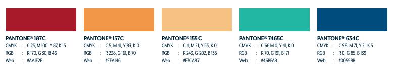 Figure 2: Secondary Color Palette