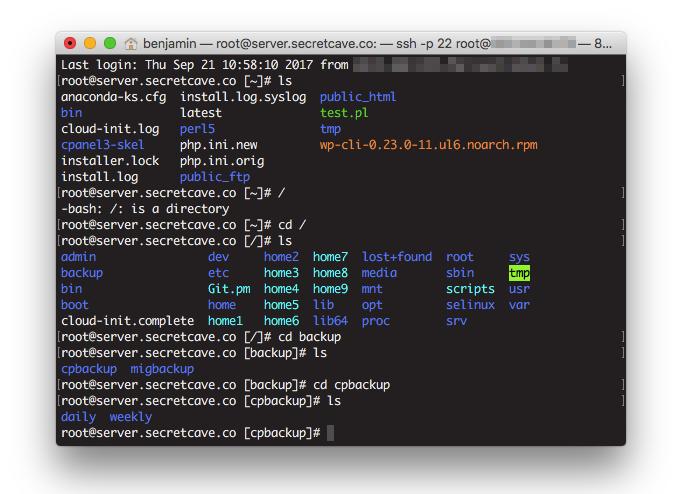 You can save backups via SSH using Terminal.
