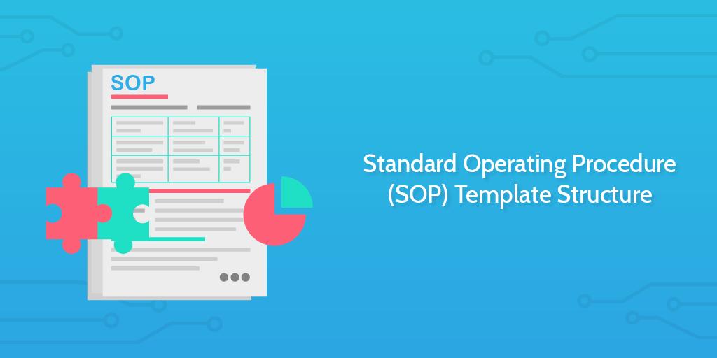 standard operating procedure SOP template structure