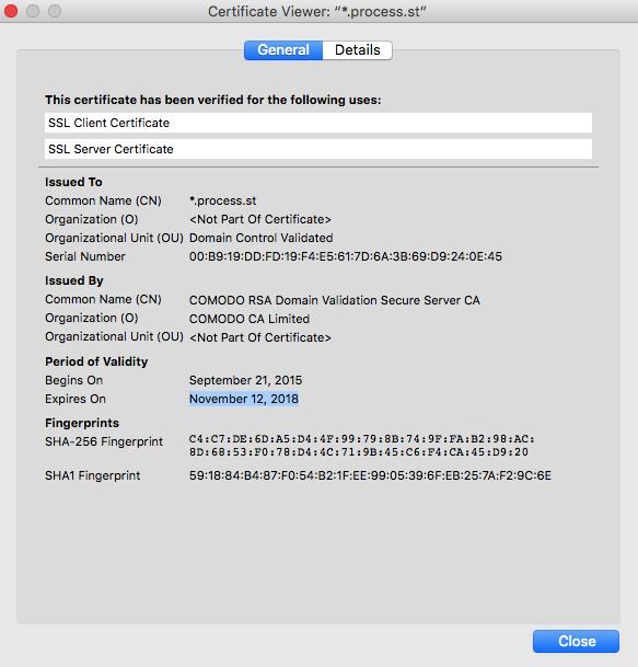 Check SSL certificate renewal date