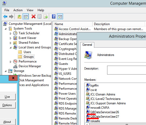 This action requires Windows administrator permissions